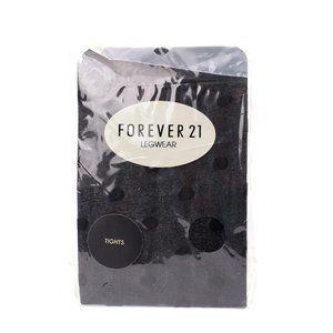 NEW Forever21 Polka Dot Sheer Tights Pantyhose M/L